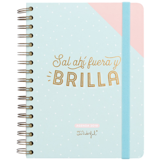 ¡No te quedes sin tu calendario y agenda Mr. Wonderful 2018!