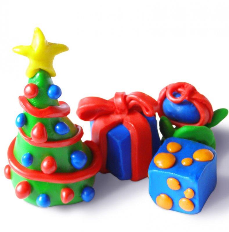 Play-doh en navidad