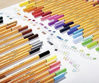 Rotuladores y subrayadores de colores