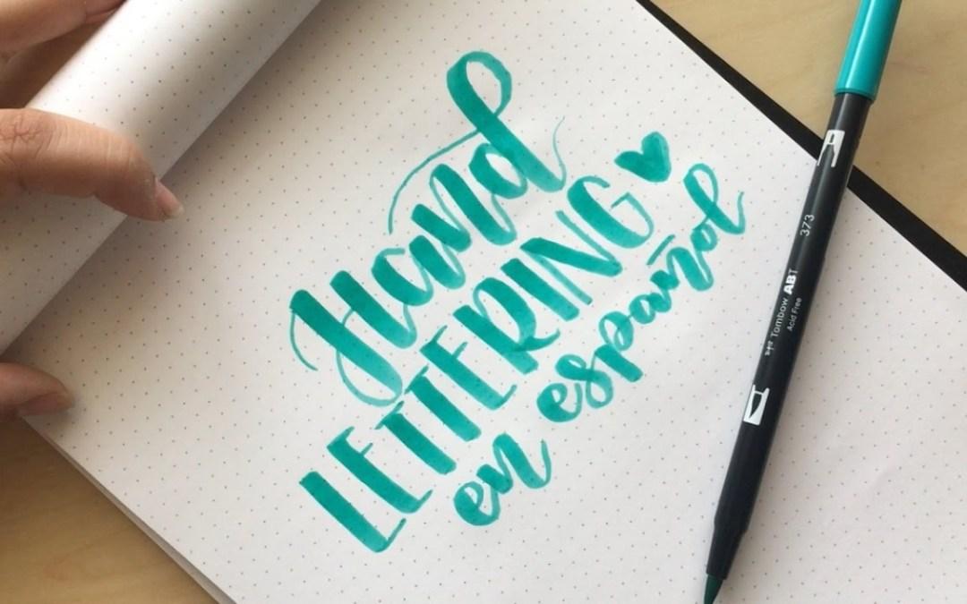 lettering para principiantes