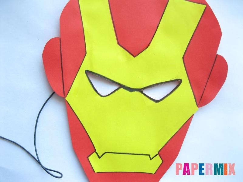 Iron man capelli facciali disegno marvel avengers assemble uomo