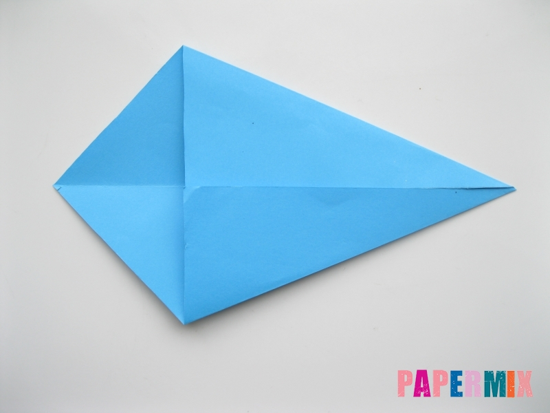 How to make an Origami Kite Base <br />(animated instruction): page 1   600x800