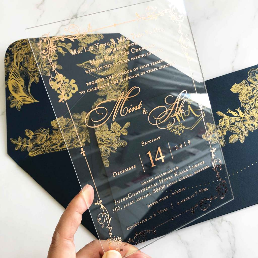 2019 WEDDING INVITATION CARD TRENDS 5