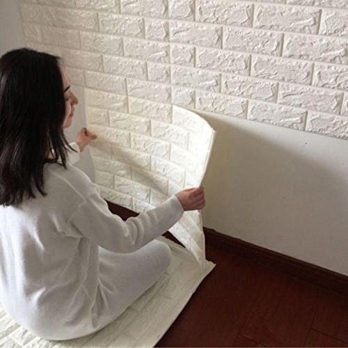 pegatina de pared vinilo ladrillo
