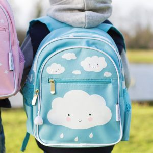 Backpack Blue Cloud