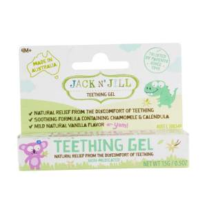 Jack N' Jill Natural Teething Gel 15g