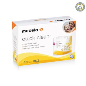 Quick Clean Microwave Bags Pk/5