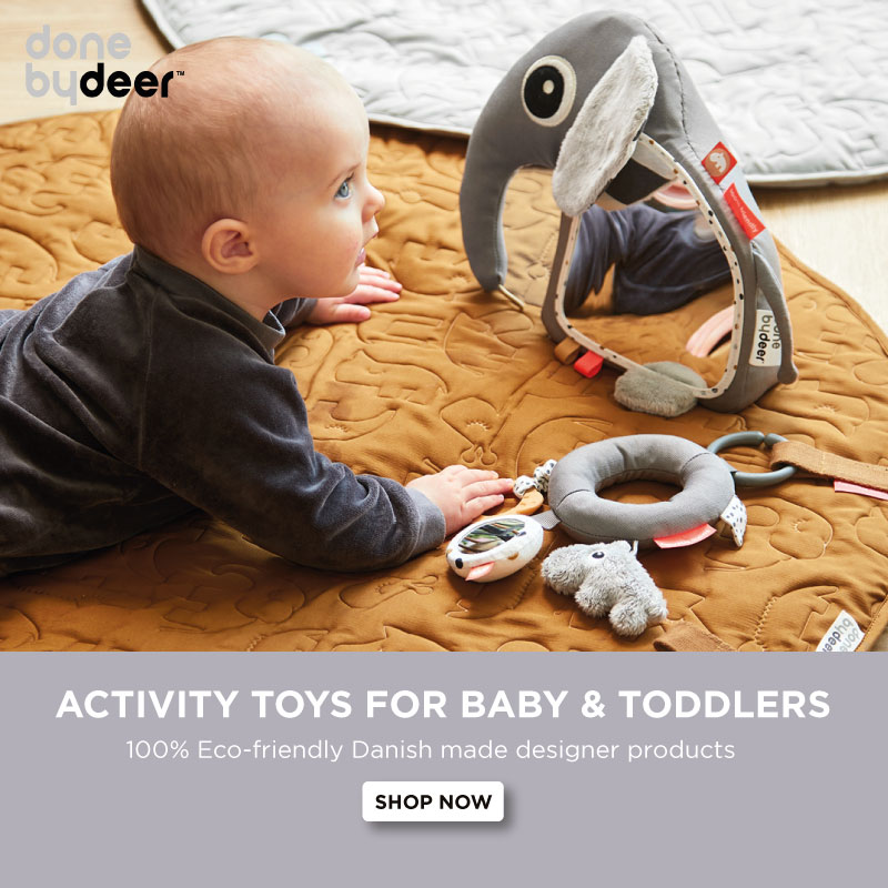 Done by deer activity toys
