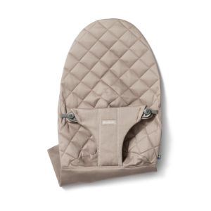 BABYBJÖRN Extra Fabric Seat for Bouncer Bliss Cotton Sand Grey