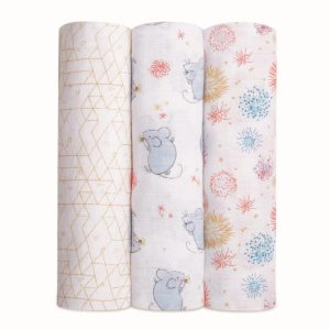 Aden + Anais Classic Swaddles Year of the Mouse 3 Pack