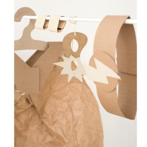 Koko Cardboards DIY Kit Superhero Costume