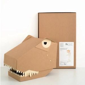 Koko Cardboards DIY T-Rex 3D Mask
