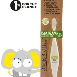Jack N' Jill Bio Toothbrush Ellie The Elephant