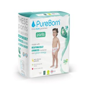 Pureborn Size 6 Pull Ups Single Pack XL 18 Pcs Lemon