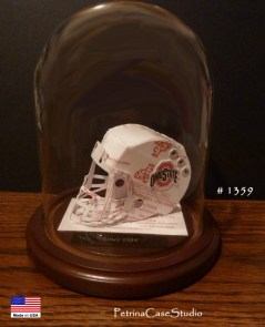 Football Helmet Business Card Sculpture