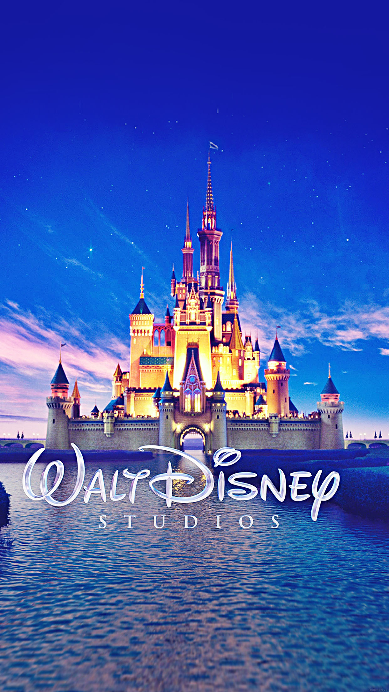 Ab16 Wallpaper Walt Disney Studios Castle Illust
