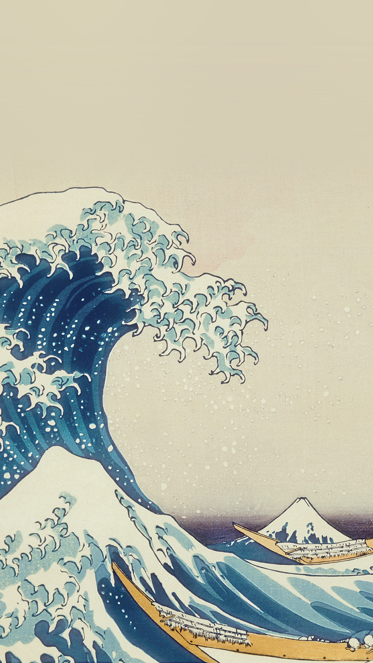 Share the best gifs now >>> PAPERS.co | iPhone wallpaper | as11-wave-art-hokusai
