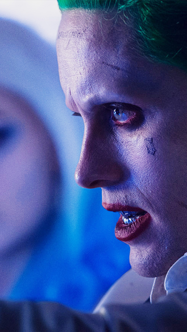 IPhone Wallpaper As57 Joker Face Suicide