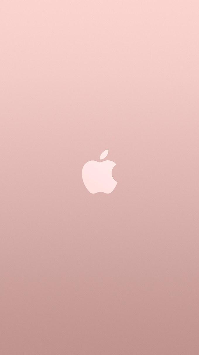 iphone 6s plus rose gold hd wallpaper