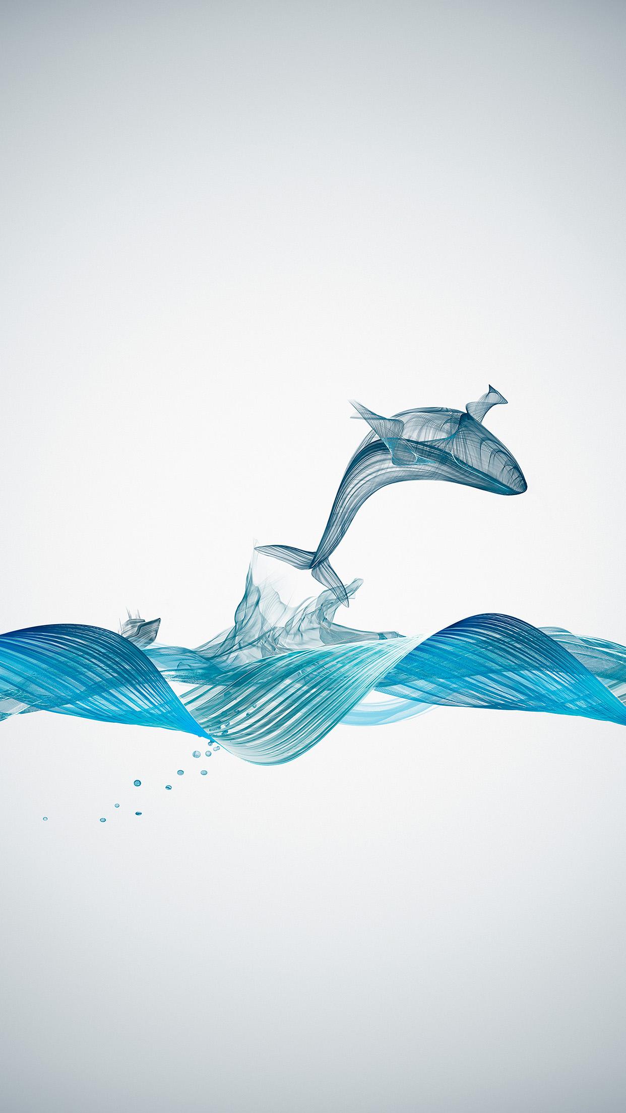 Bd84 Fishing Boat Whale Wave Line Art Illustration Animal