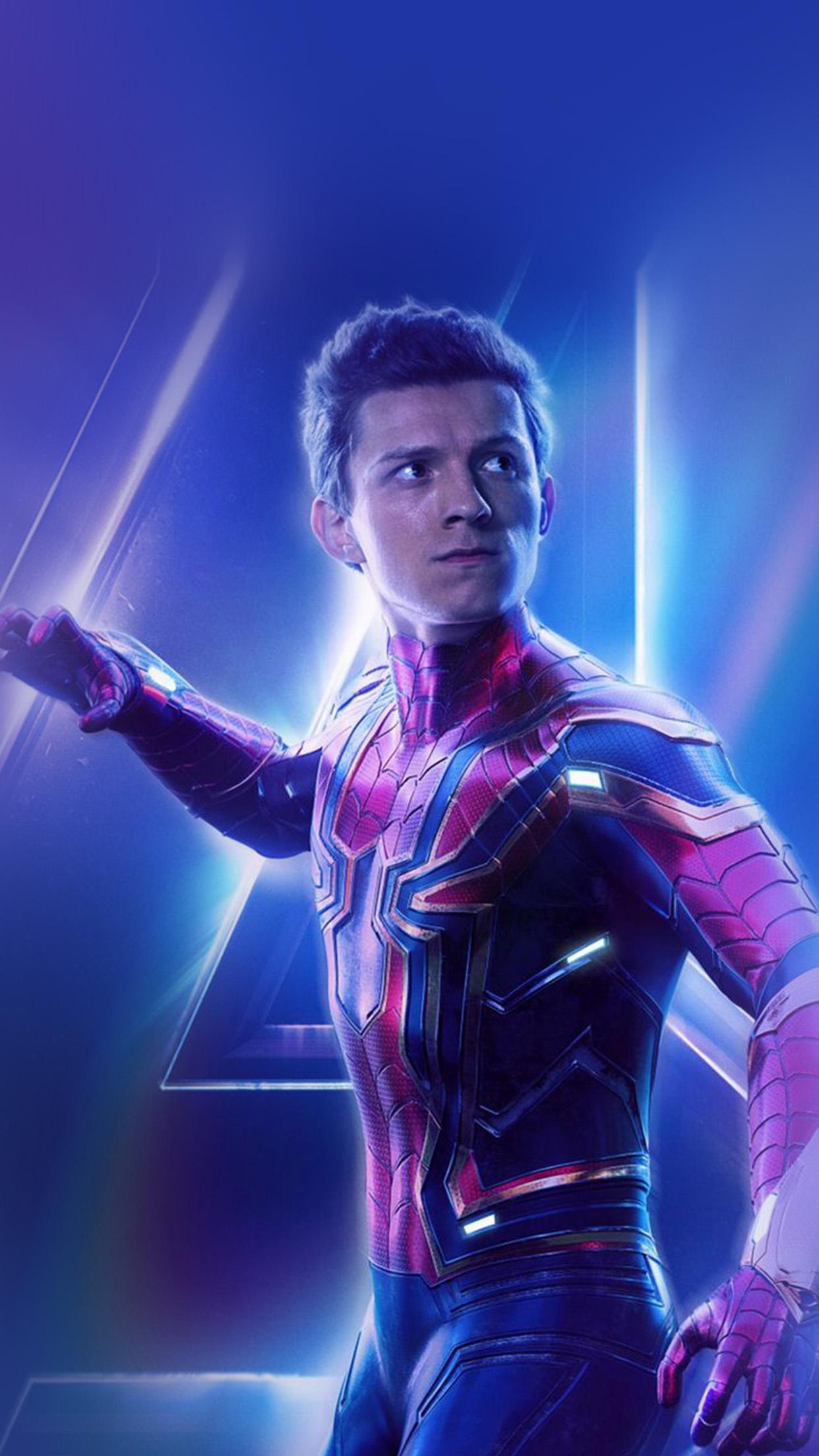 iPhone6papers.com | iPhone 6 wallpaper |  be92-spiderman-suit-avengers-infinitywar-marvel-hero-art-film