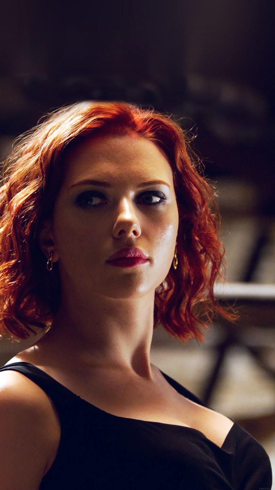 Iphone 6 Plus Iphone6papers Hf29 Avengers Natasha Scarlett Johansson Y Hero