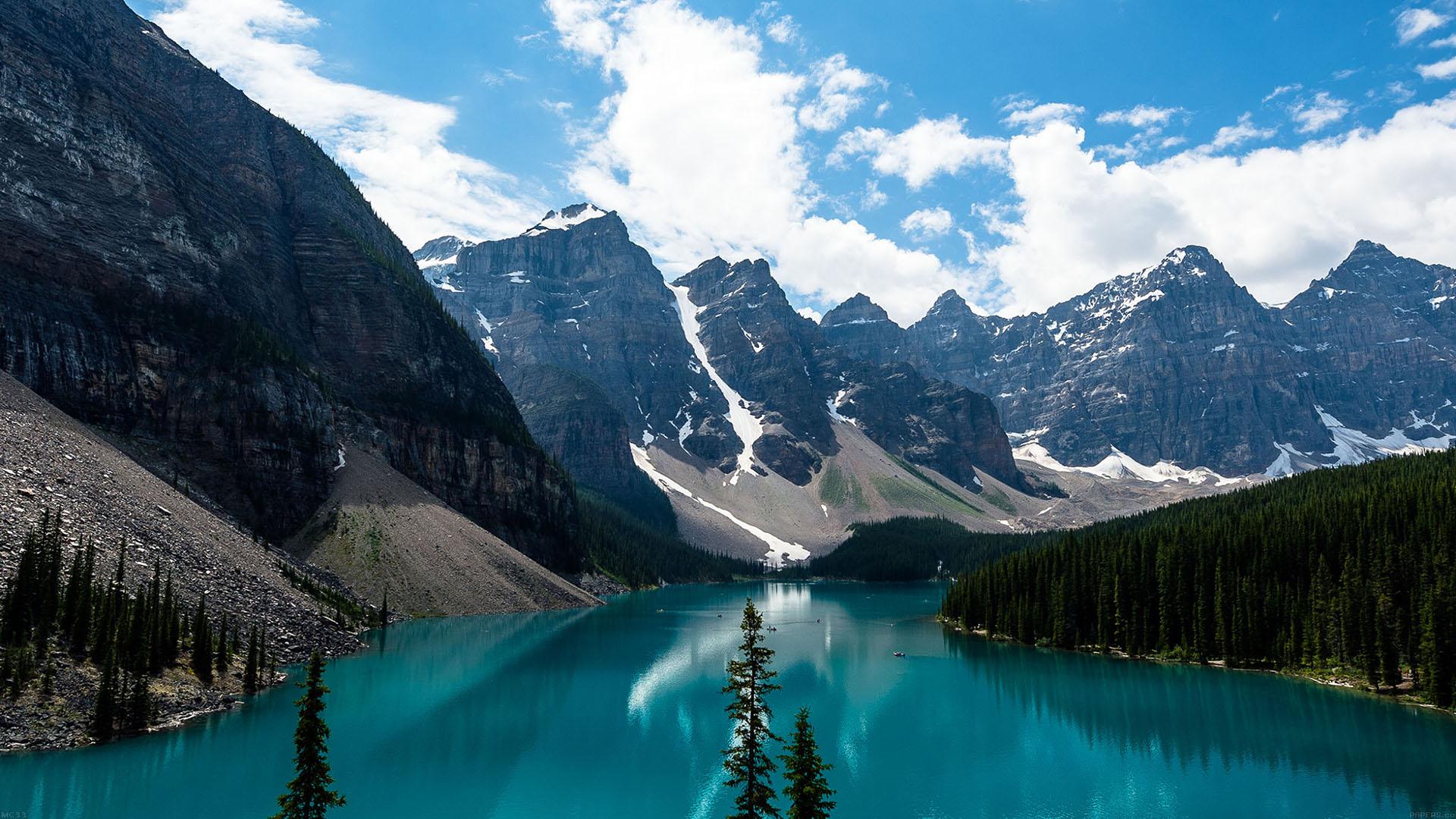 I Love Papers Mc33 Wallpaper Emerald Lake Canada Mountain
