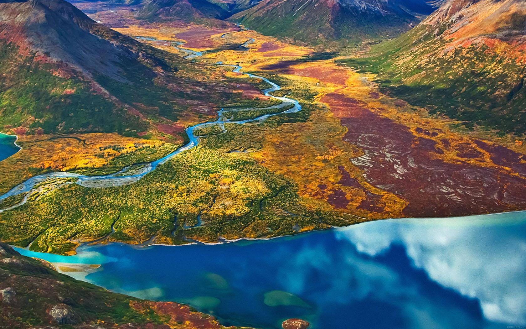 Md25-wallpaper-land-rainbow-mountain-field-nature