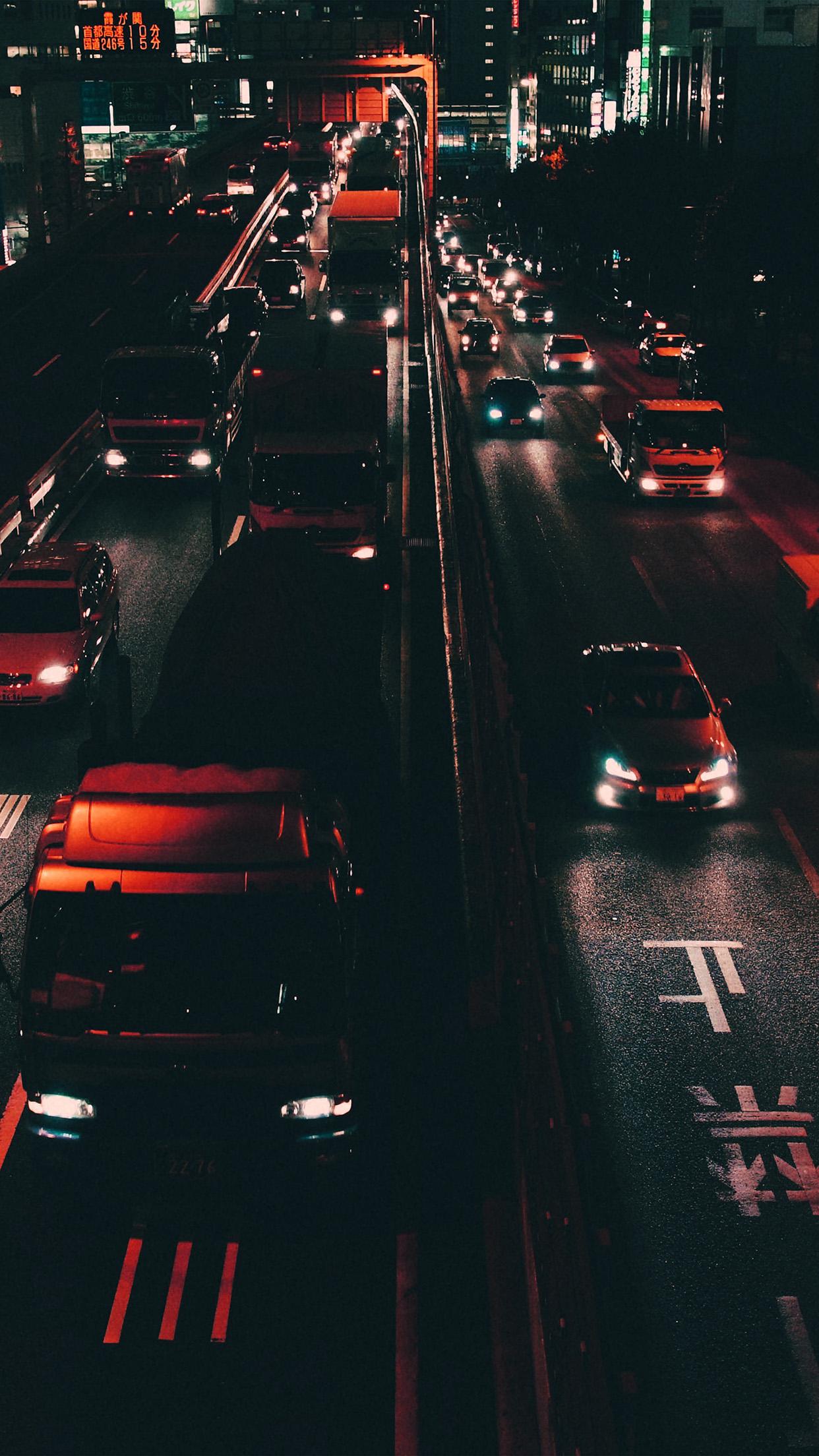 Download 4k wallpapers of cars like lamborghini, ferrari, bmw, audi, porsche, bentley, bugatti, aston martin, mclaren, mercedes benz in hd, 4k, 5k resolutions for desktop & Nk70 Street Car Japan Night Orange Wallpaper