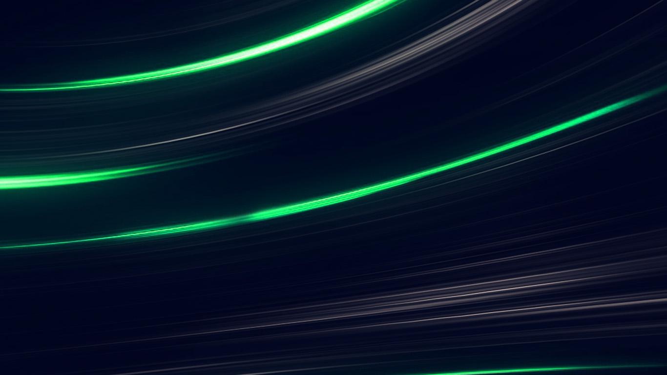Vo30 Curve Abstract Line Dark Green Pattern Wallpaper
