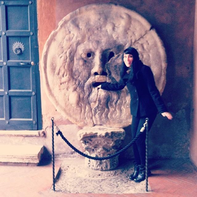 Bocca della Verità (Mouth of Truth) Rome