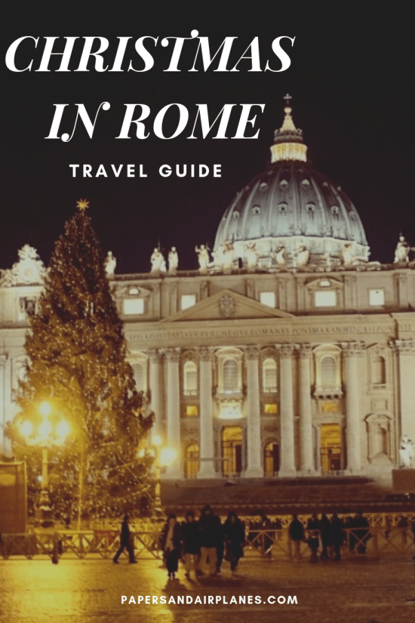 Christmas in Rome Travel Guide