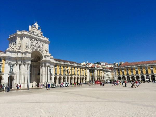 Rua Augusta Arch Lisbon Portugal