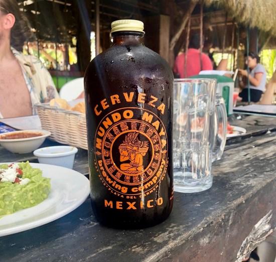 Cerveza La Buena Vida Akumal Mexico