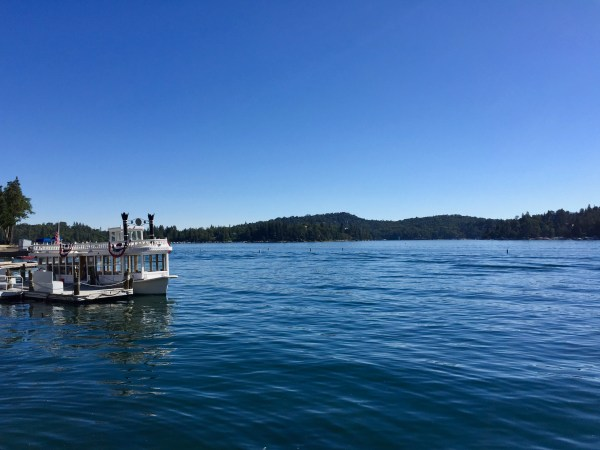 Lake Arrowhead California summer