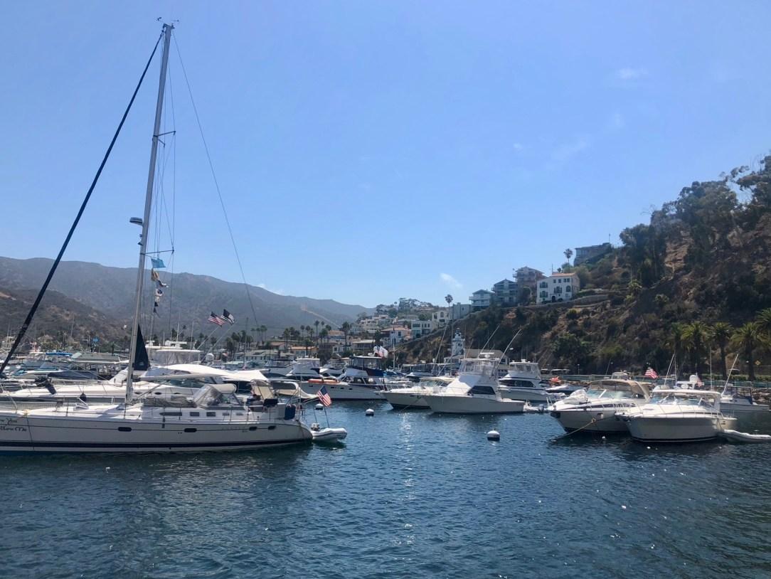 Avalon harbor Catalina Island California