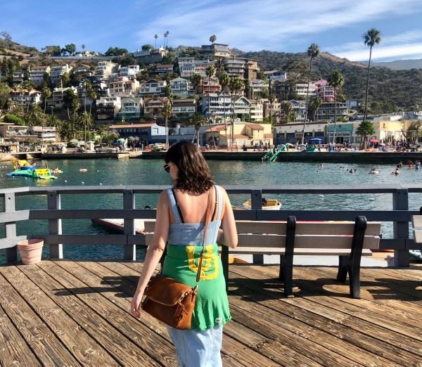 Avalon Pier Catalina Island