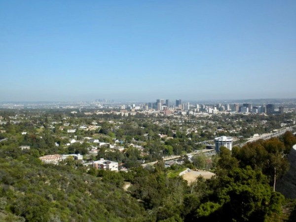 Getty Museum view