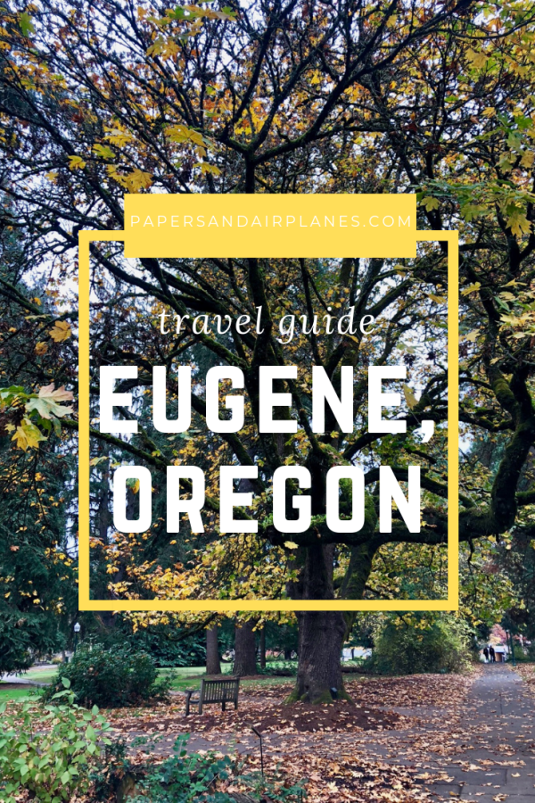 Eugene Oregon pin