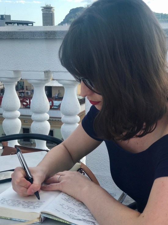Carly writing