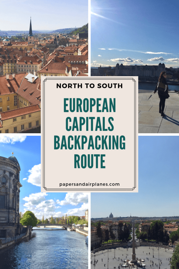 North to South European Capitals Backpacking Route-5