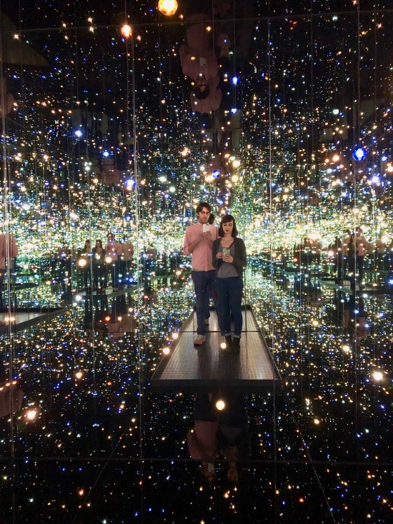 Infinity Mirrored Room at the Broad Museum