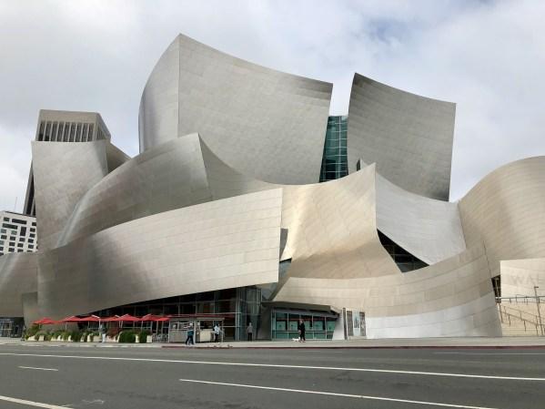 Walt Disney Concert Hall, Downtown Los Angeles