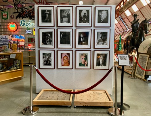 Celebrity photographs, Valley Relics Museum