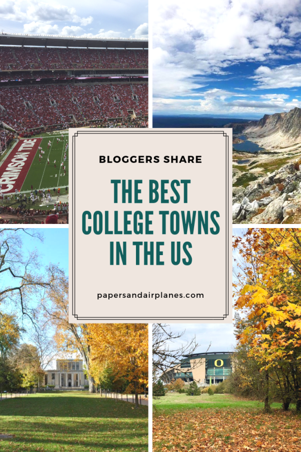 The Best College Towns in the US