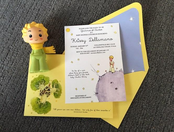 Le Pe Prince Baby Shower Invite