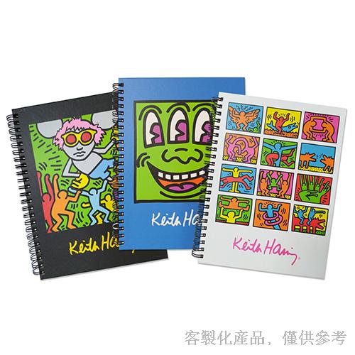 筆記本客製化-藝術家作品的封面