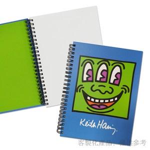 筆記本客製化藝術家其中一本封面及內頁