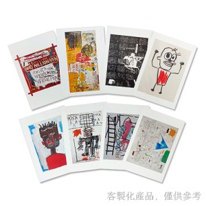 客製化藝術家作品明信片組