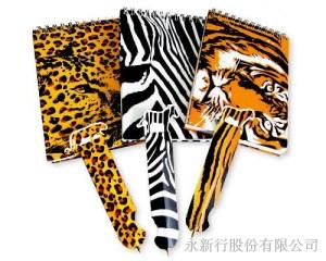 野生動物書籤筆筆記本-7050-NP,2